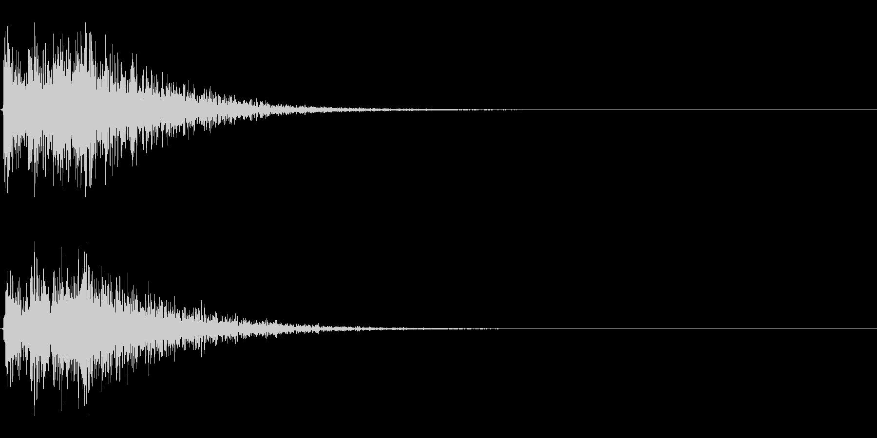 Dark_Attack-33_Revの未再生の波形
