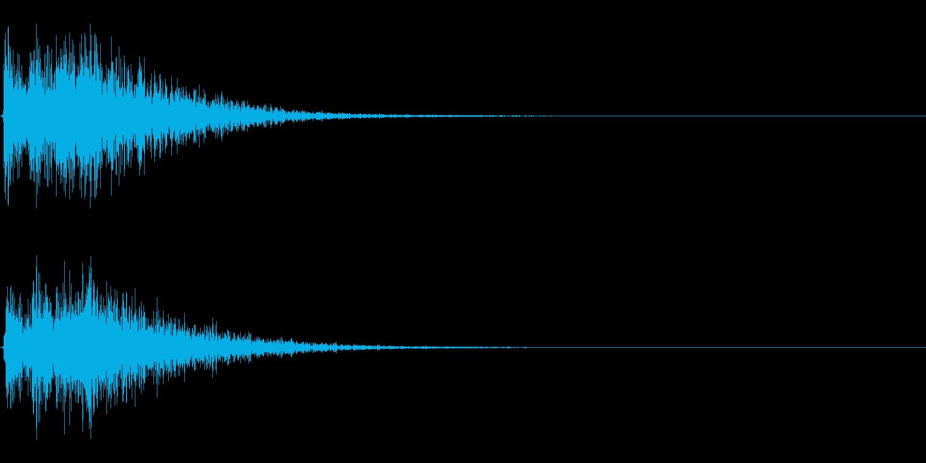 Dark_Attack-33_Revの再生済みの波形