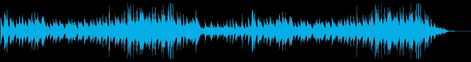 希望を胸に歩き出す~前向きなピアノ楽曲!の再生済みの波形