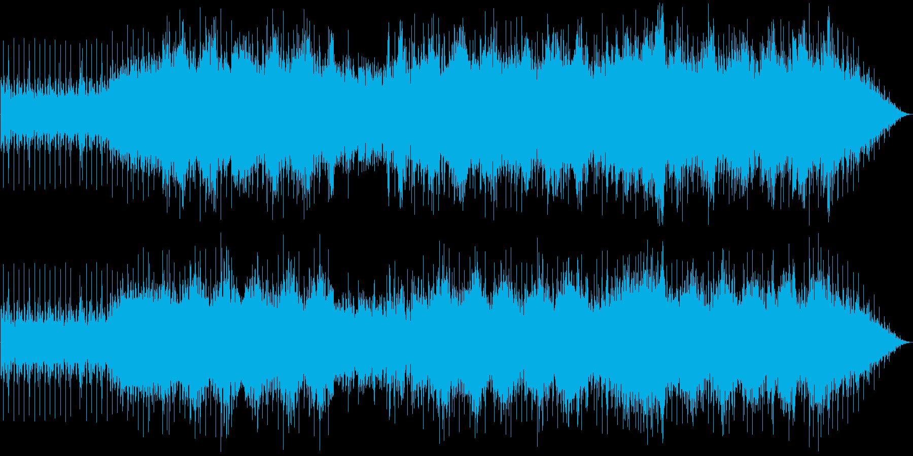 スピード感のあるバトル SF感 テクノの再生済みの波形