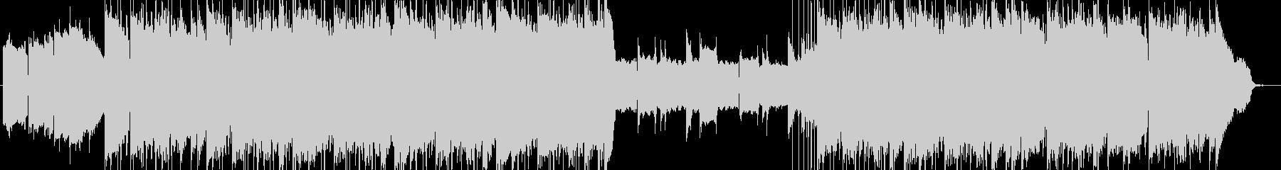 lofi風さわやかなピアノBGMの未再生の波形