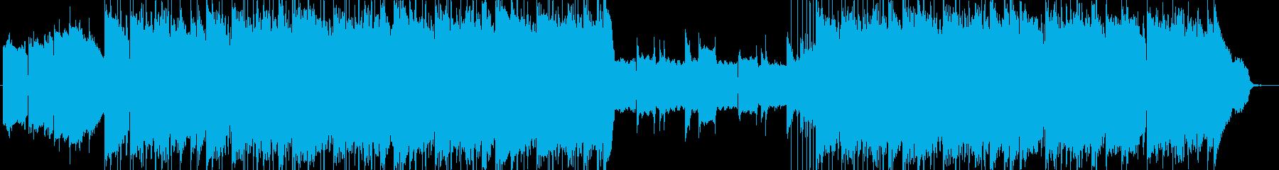 lofi風さわやかなピアノBGMの再生済みの波形