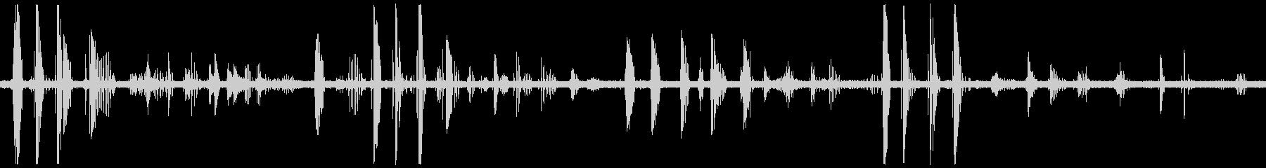タゴガエルの鳴き声の未再生の波形