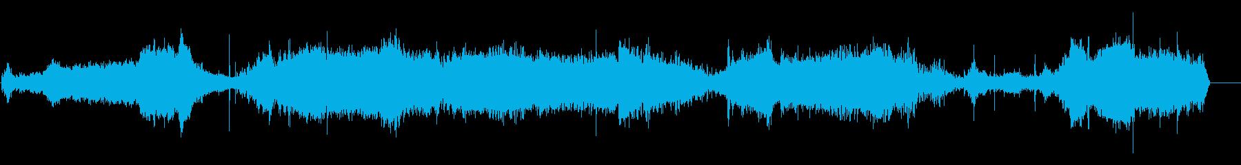 フォルクスワーゲンバグ、インテリア...の再生済みの波形