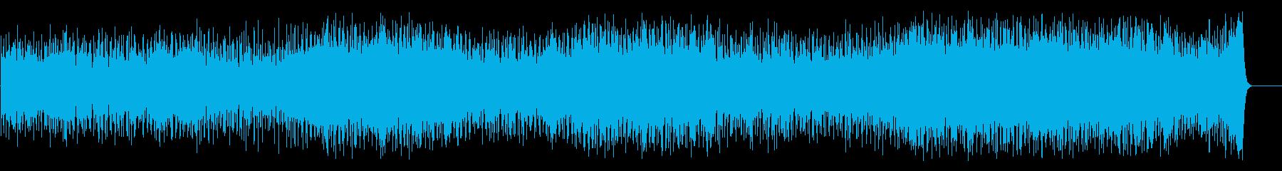 サイクリング向けポップス(フルサイズ)の再生済みの波形