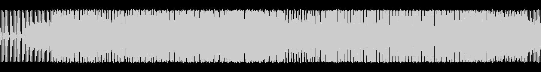 ベースラインが特徴的なハウスの未再生の波形
