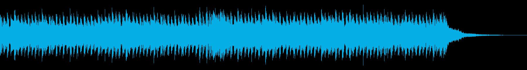 始まりや終わりを告げる勇壮なテクノ30秒の再生済みの波形
