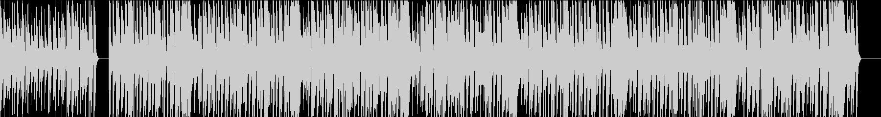 ガットギターによる懐かしいボサノヴァの未再生の波形