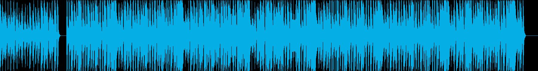ガットギターによる懐かしいボサノヴァの再生済みの波形