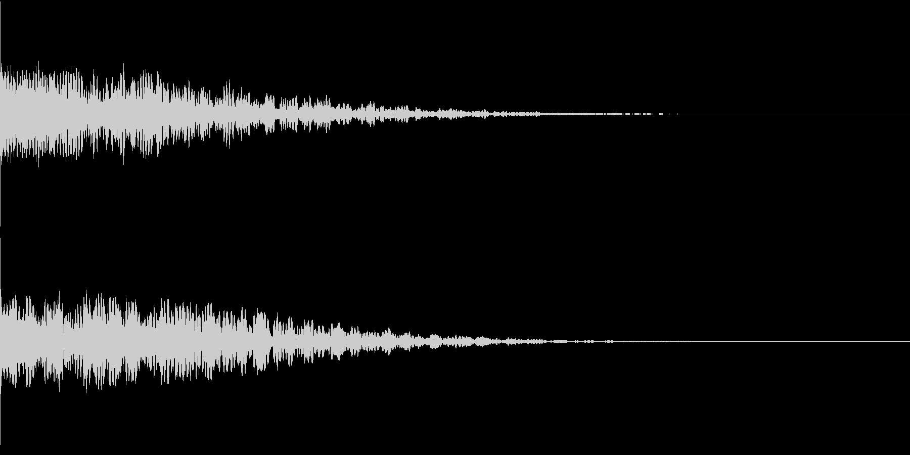 違和感、不穏、不気味な不協和音-C2の未再生の波形