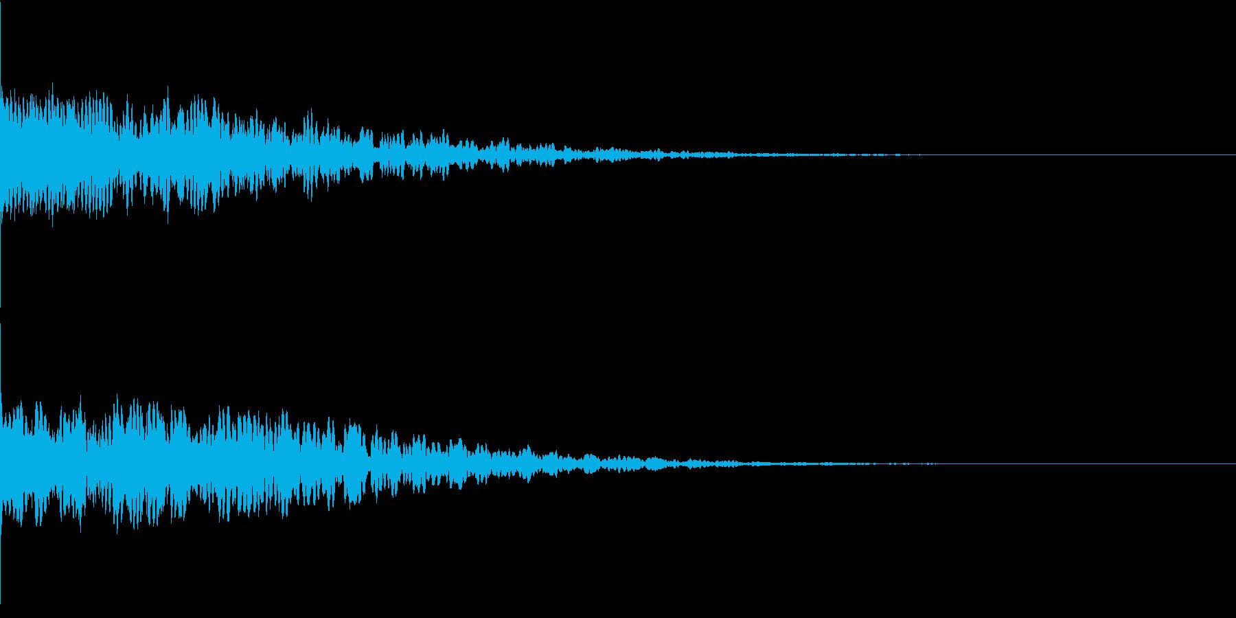 違和感、不穏、不気味な不協和音-C2の再生済みの波形