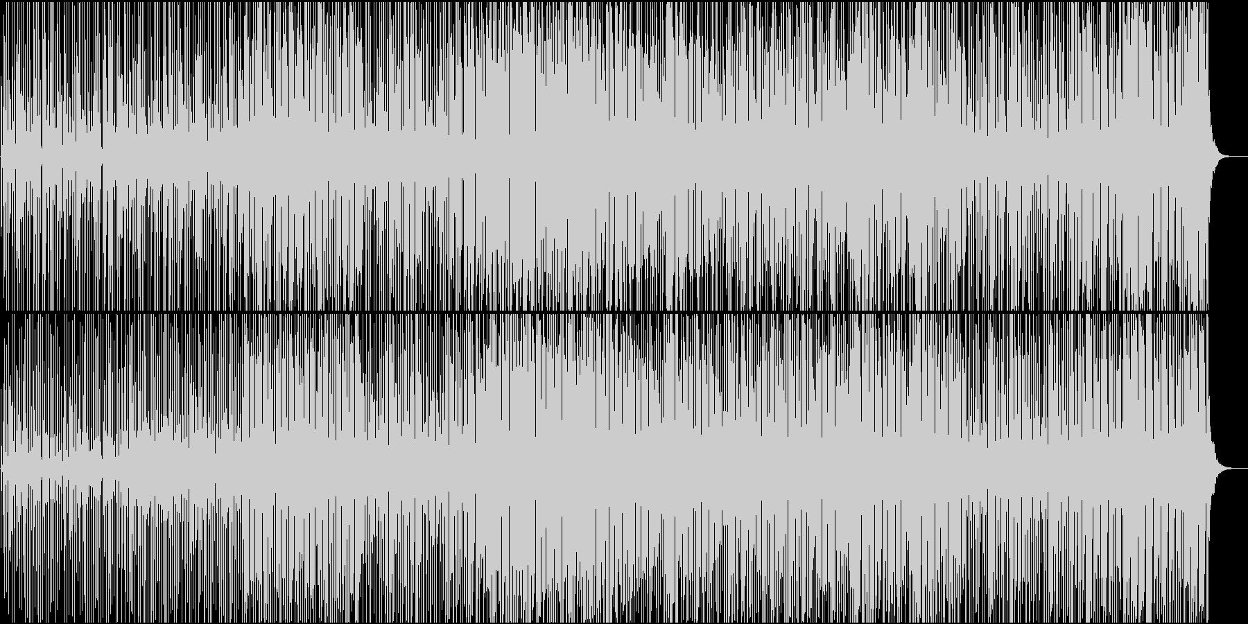 ミニマル・急いだ雰囲気・かわいいの未再生の波形