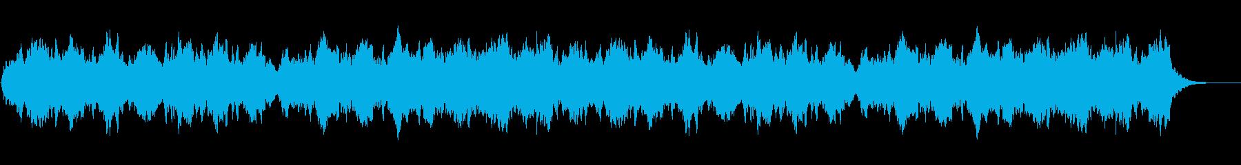 最終章の再生済みの波形