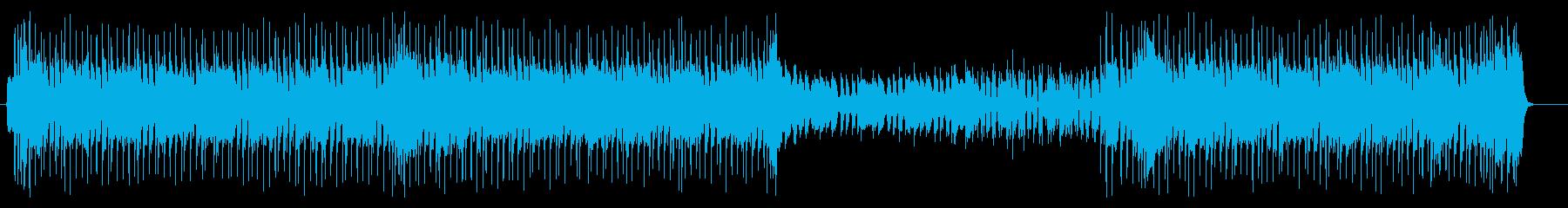 キャッチ-で、明るいハードロックギター!の再生済みの波形