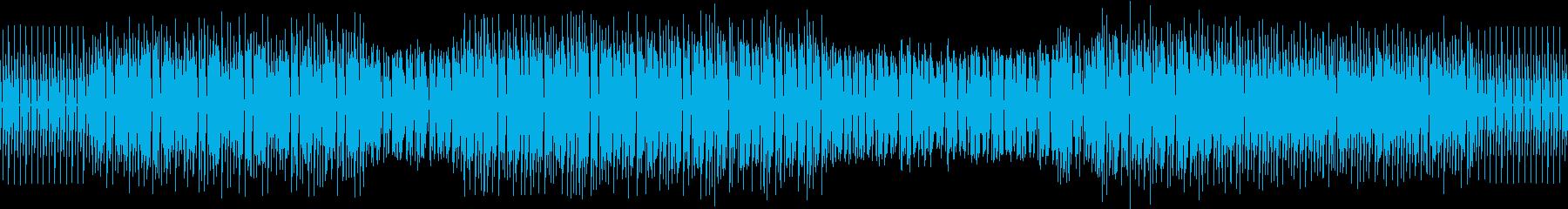 うねるシンセテクノ。LOOPできます。の再生済みの波形