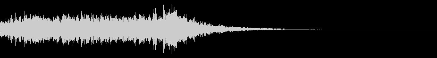 ジングル ピアノ 着信音 和風 大喜利の未再生の波形