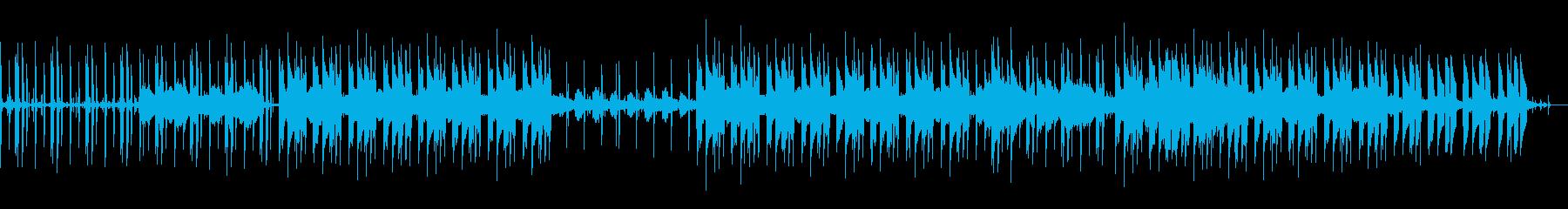 ジャジーなエレピのチル・ヒップホップの再生済みの波形