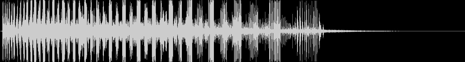レーザースウィープバージョン1の未再生の波形