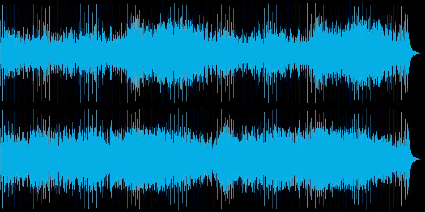 アコギが綺麗なリラックスできるポップスの再生済みの波形