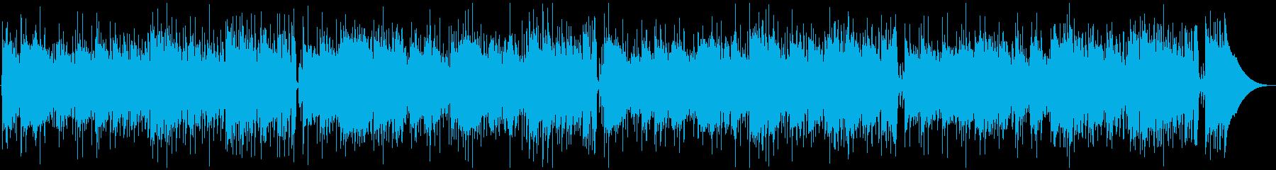 マンドリンのカントリーバラードの再生済みの波形