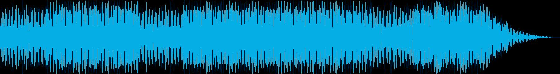 おしゃれな未来感のあるEDMの再生済みの波形