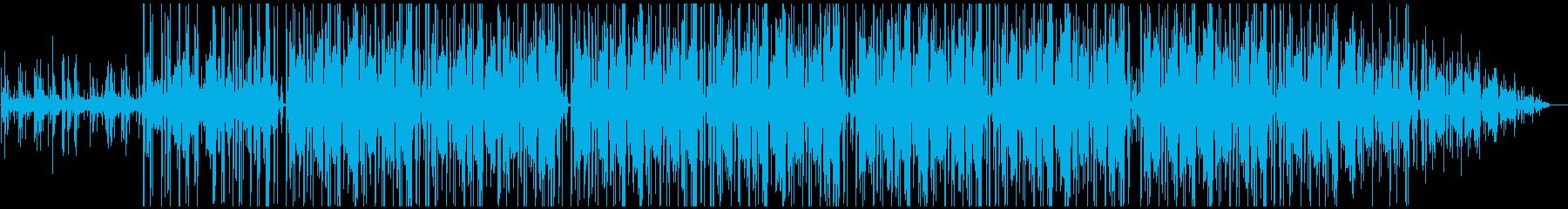 さようならをイメージしたLo-Fiの再生済みの波形