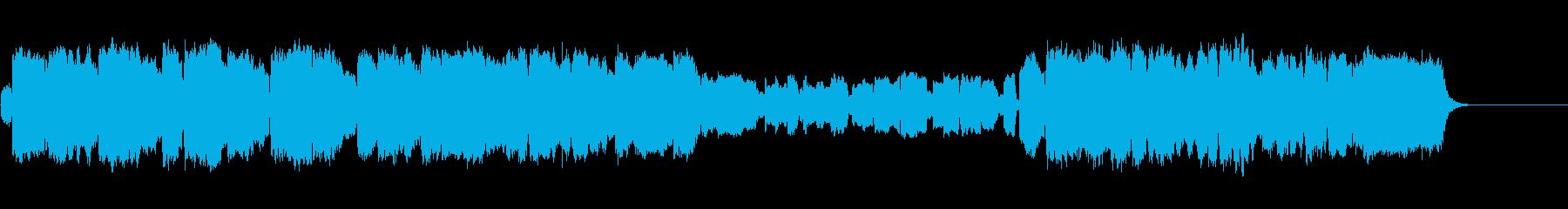 ノルウェーの結婚行進曲(フエ四重奏)の再生済みの波形