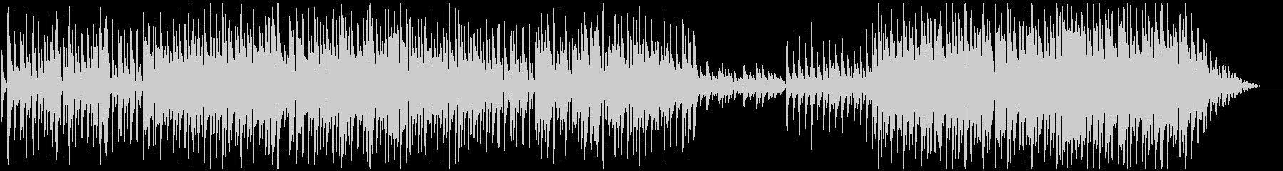 ミディアプテンポせつなピアノメロ曲の未再生の波形