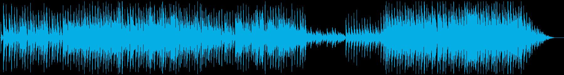 ミディアプテンポせつなピアノメロ曲の再生済みの波形
