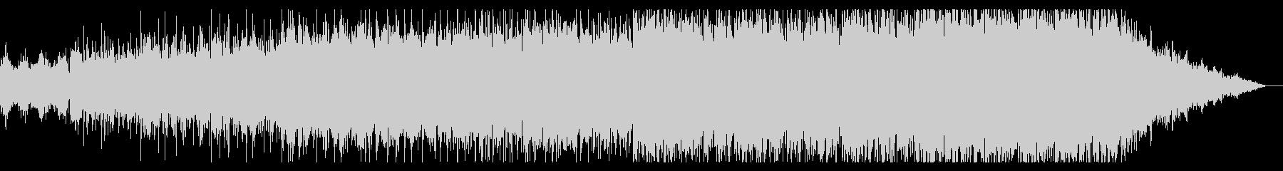 暗くシネマティックなアンビエントIDMの未再生の波形