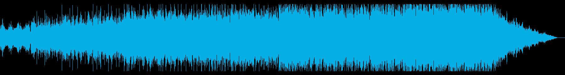 暗くシネマティックなアンビエントIDMの再生済みの波形