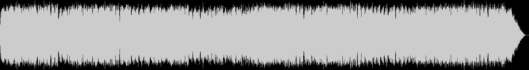 浮遊感のある竹笛のヒーリング音楽の未再生の波形