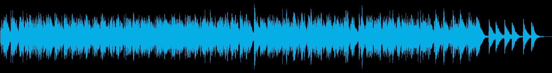レプトン教会の鐘:リンギングパターンの再生済みの波形