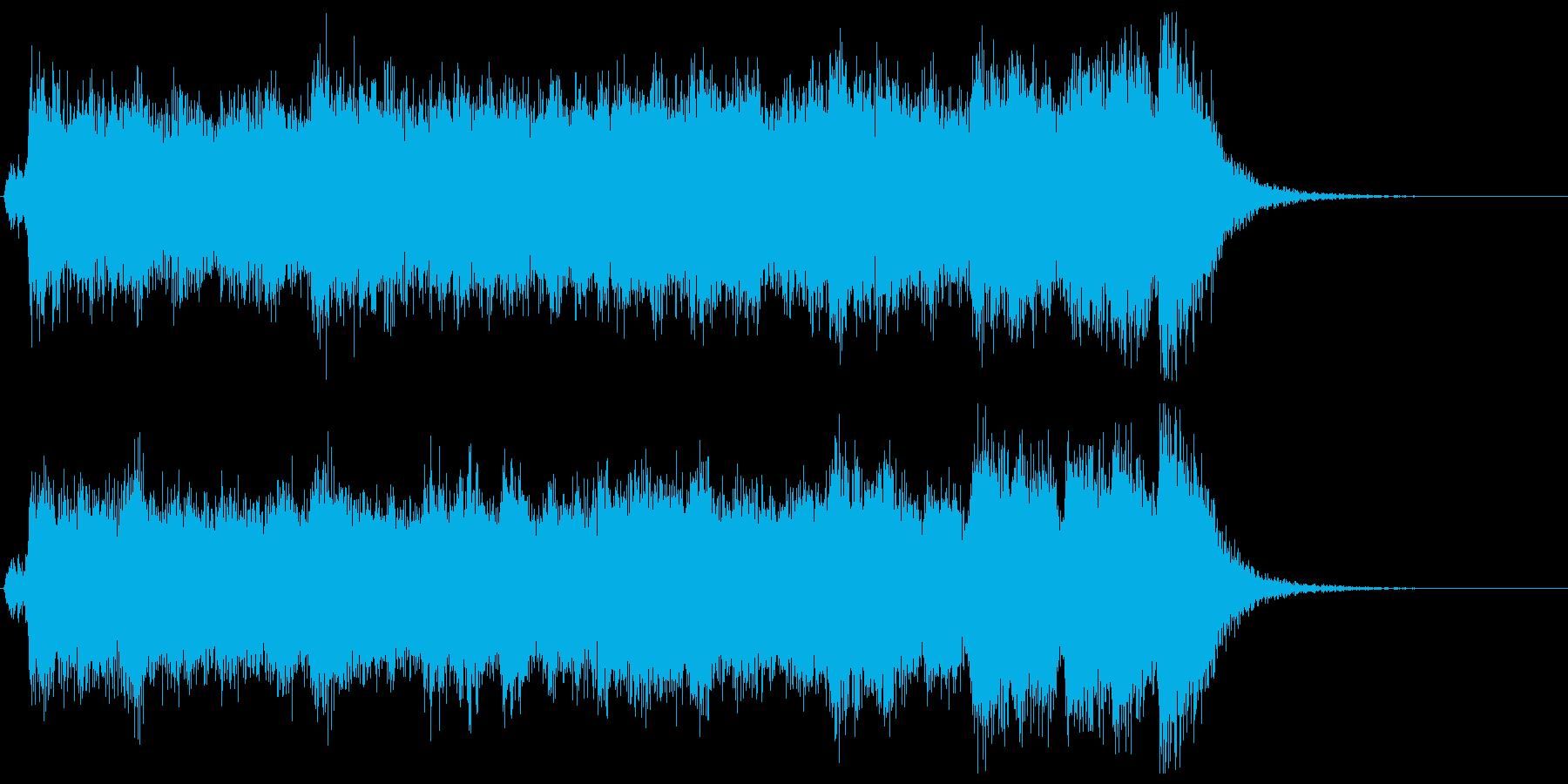 荘厳な始まり!フルオケジングル:合唱付の再生済みの波形