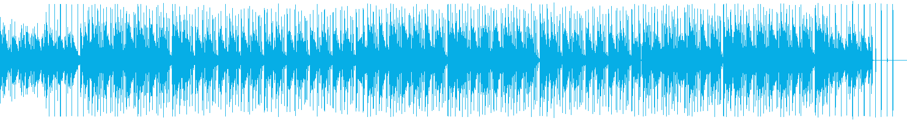 CMや企業VPにチルで爽やかヒップホップの再生済みの波形