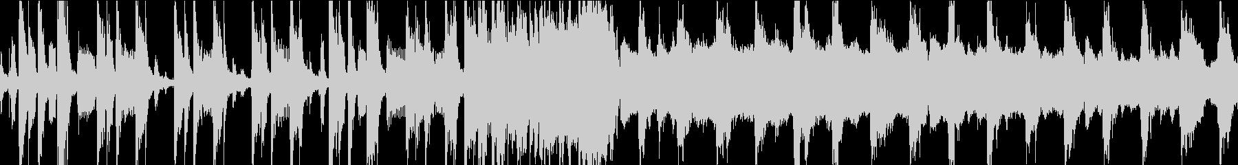 レゲエトラック、伝統的なレゲエリズ...の未再生の波形