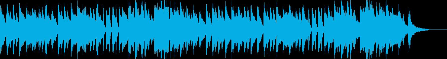 ABCの歌・きらきら星 ピアノ伴奏の再生済みの波形