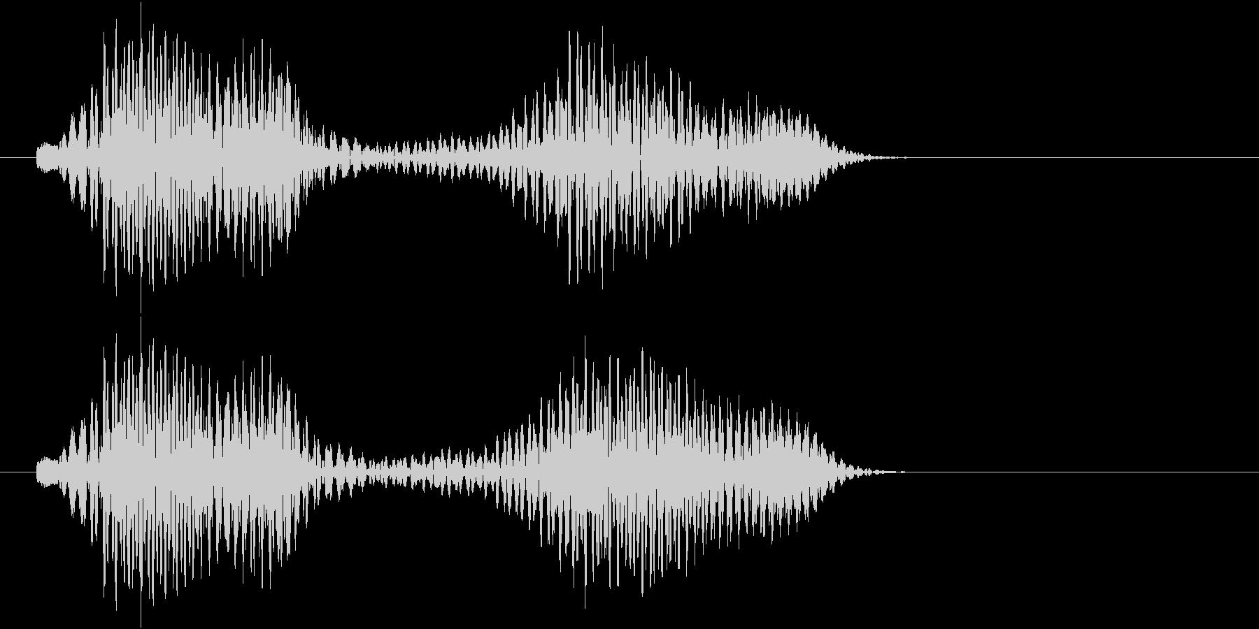 ポロン、ポーン(キャンセル、NG等)の未再生の波形