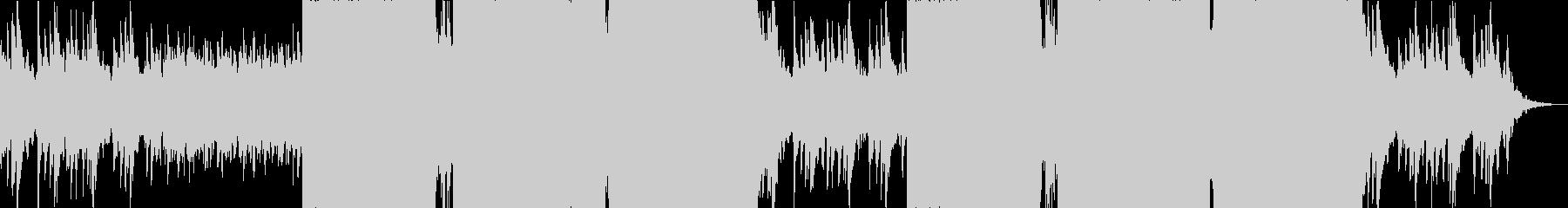 壮大なイメージのEDMです。の未再生の波形