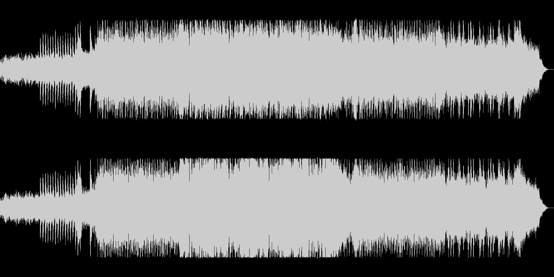 レトロな80sシンセポップス。の未再生の波形