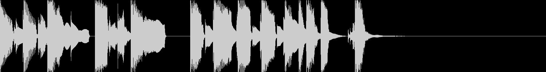 ヘンテコで可愛いアイキャッチの未再生の波形