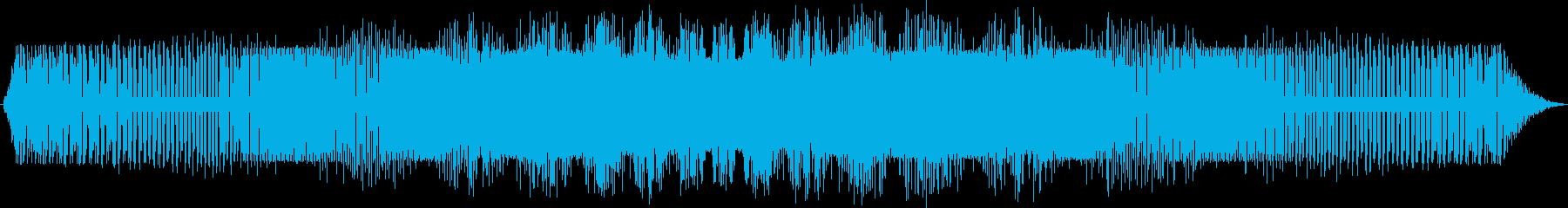 電動スワイプ2の再生済みの波形