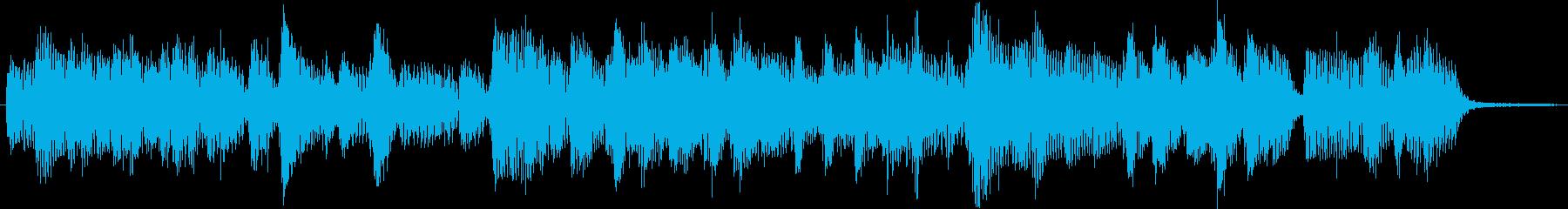 4ビートジャズのジングル2の再生済みの波形