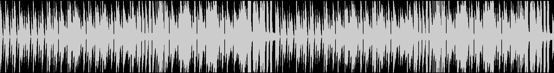 ほのぼのとした日常を表現した曲の未再生の波形