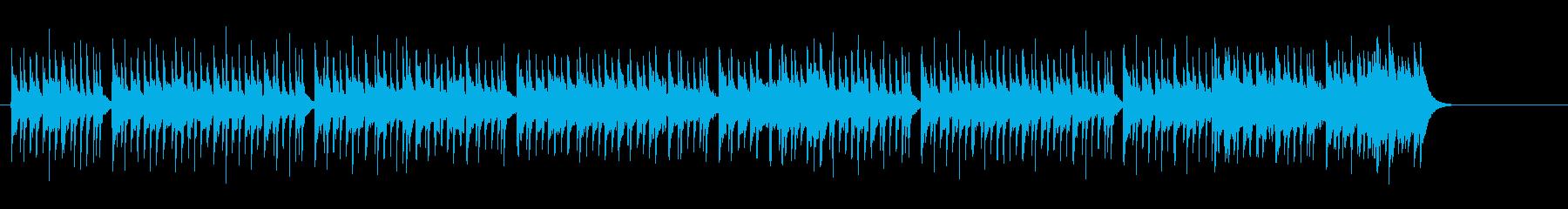 淡白なエレクトリック・ポップスの再生済みの波形