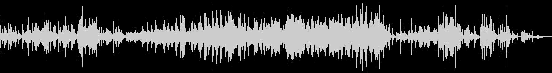 サイレントナイトのジャズピアノアレンジの未再生の波形