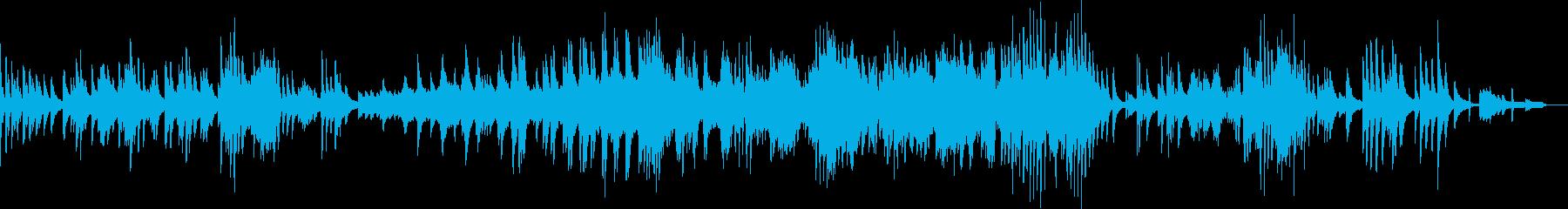 サイレントナイトのジャズピアノアレンジの再生済みの波形
