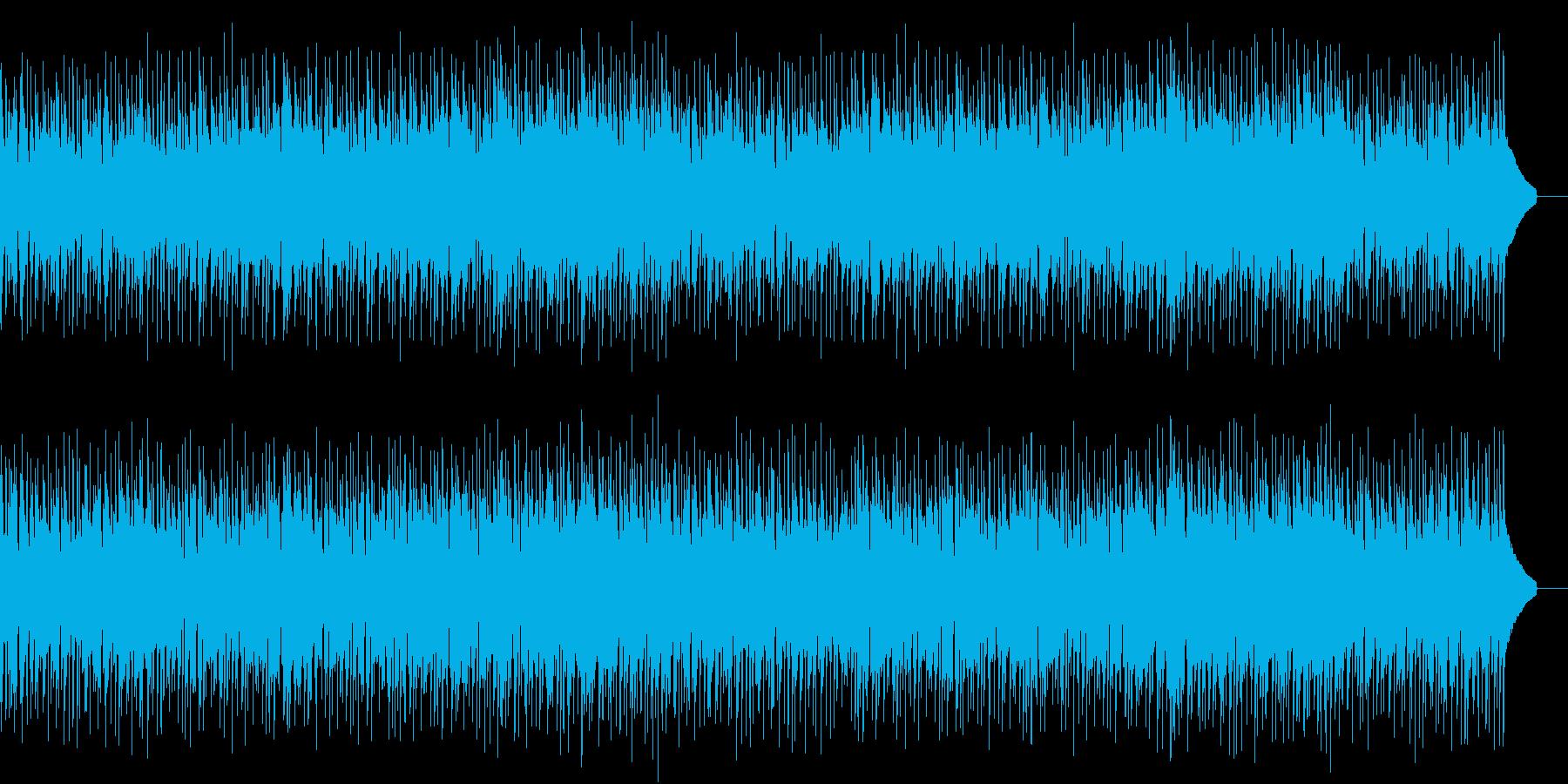 ポップで明るい/気持ちが弾むようなBGMの再生済みの波形
