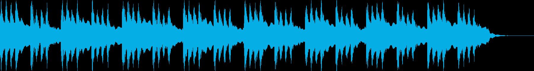 神秘的、幻想的な映像に合うBGMです。の再生済みの波形