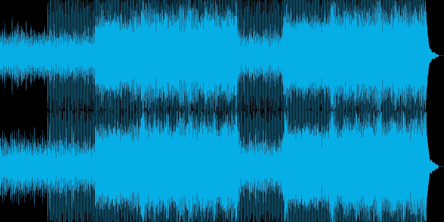 企業VP向け、爽やかポップ4つ打ち12aの再生済みの波形